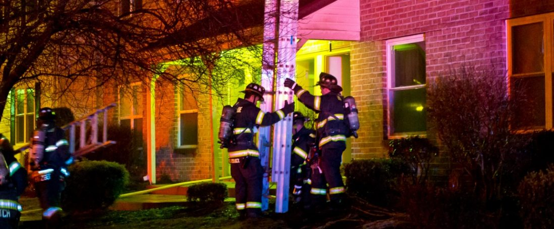 Two Families Displaced by Millbridge Gardens Apartment 2 Alarm Fire