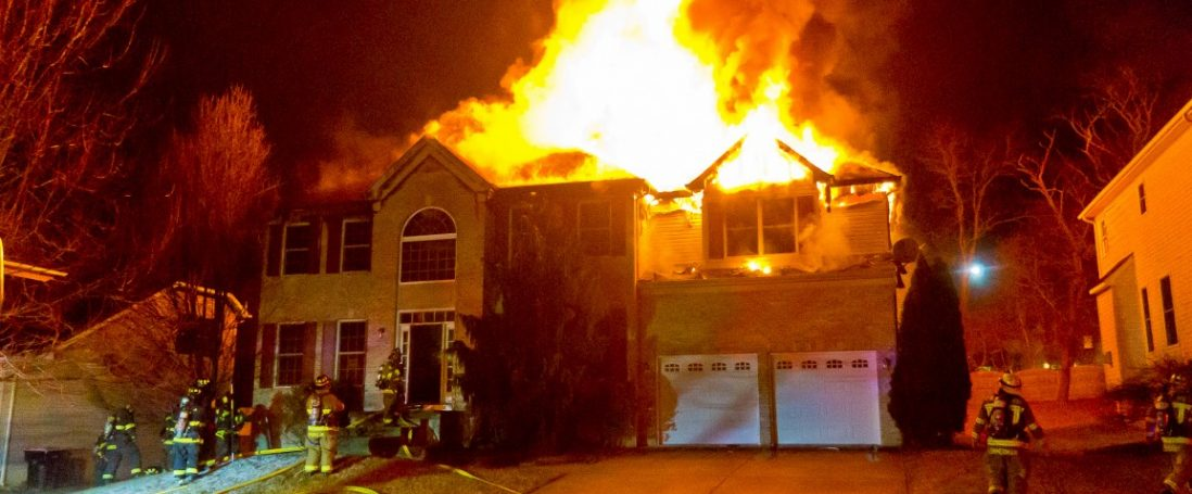 Friday Night Duty Crew Battles 2 Alarm Fire in Blackwood