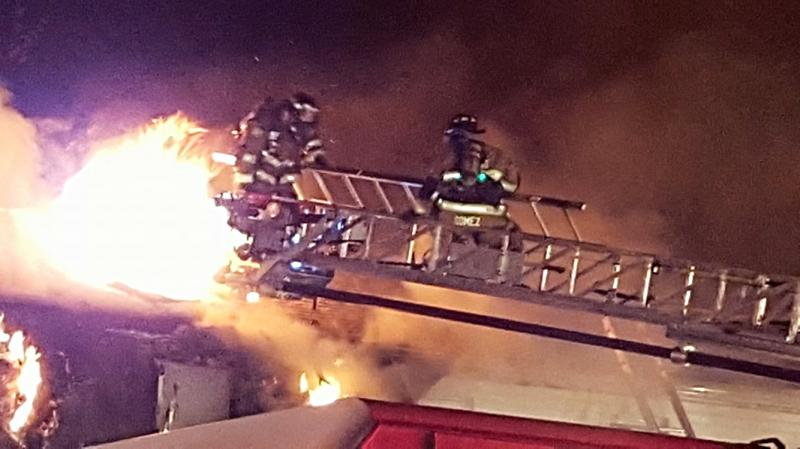 """All Hands"" Fire In Lindenwold"