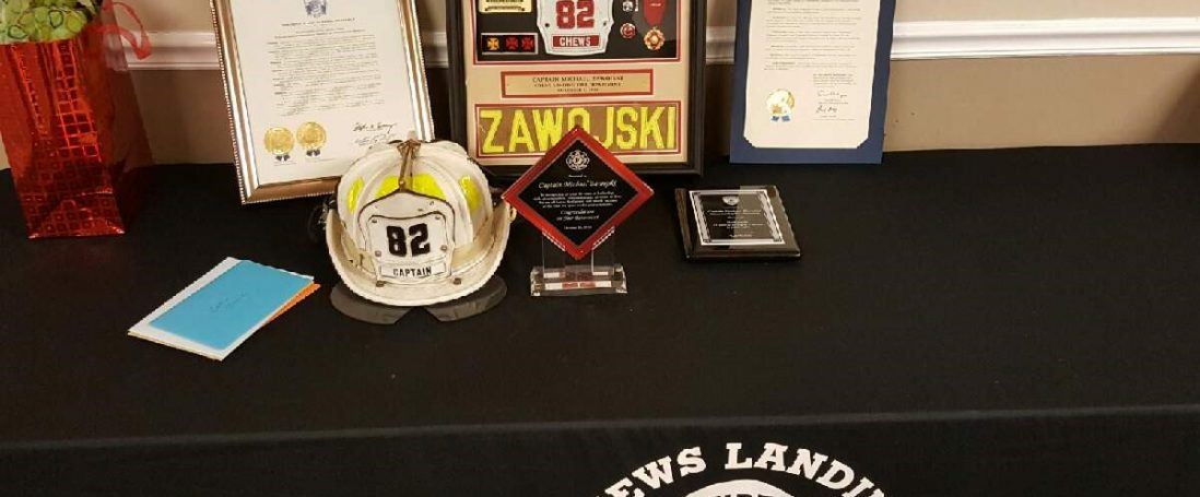 Retirement luncheon for Captain Michael Zawojski
