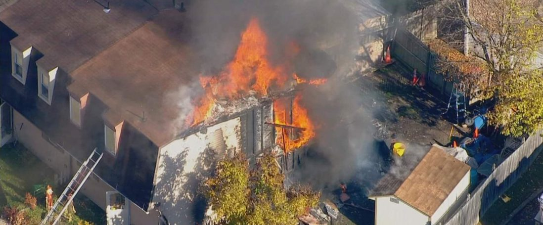 Multi Alarm Fire Displaces 3 Families
