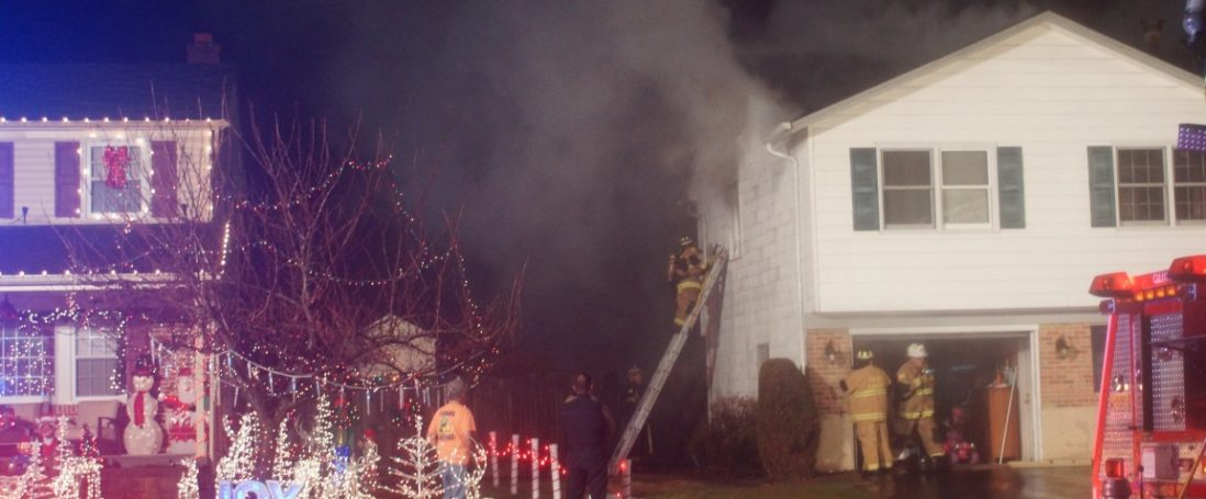 Residential House Fire Displaces Family
