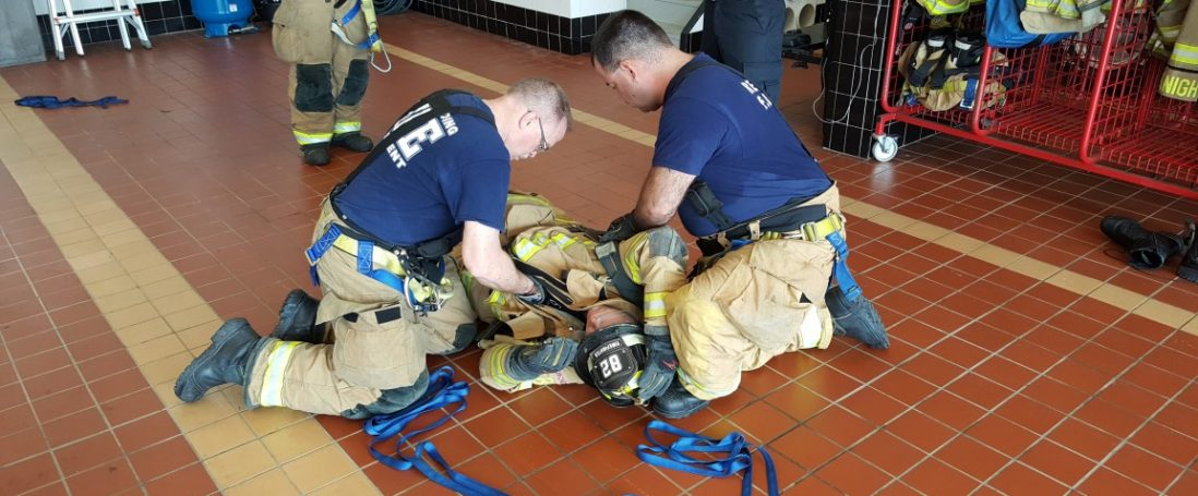 Firefighter Self Rescue and Survival Refresher Training