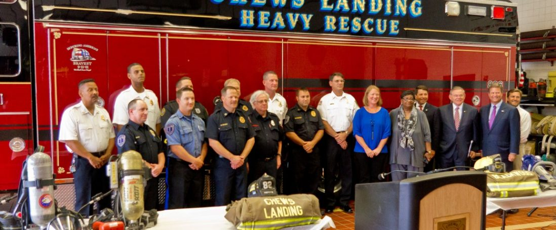 Chews Landing Fire Dept. Awarded Federal SAFER Grant