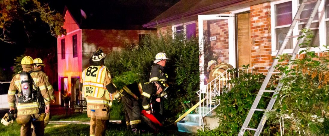 Overnight Room and Contents Fire on Florence Ave.